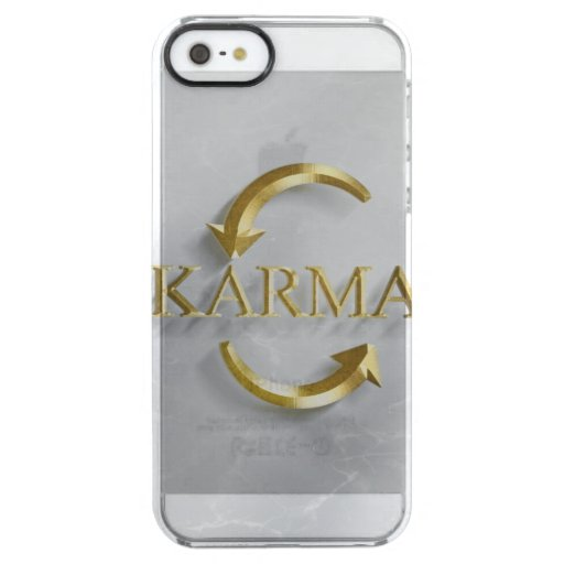 KARMA collection set-  Clear iPhone SE/5/5s Case