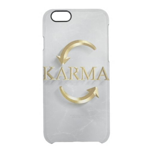KARMA collection set-   Clear iPhone 6/6S Case