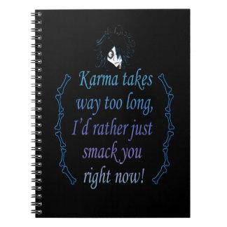 Karma (Color) Notebook