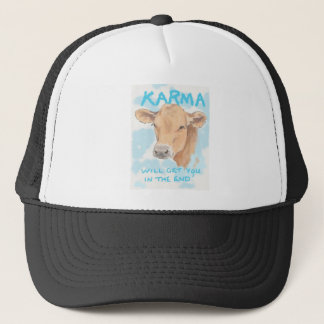 Karma Cow Trucker Hat