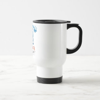 Karma CrossFit Travel Mug White