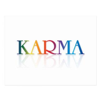 Karma Customize Product Postcard