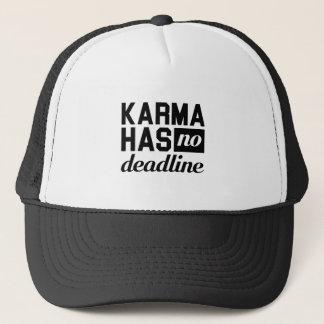 Karma Deadline Trucker Hat