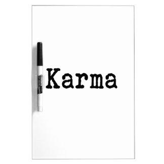 Karma Dry-Erase Board