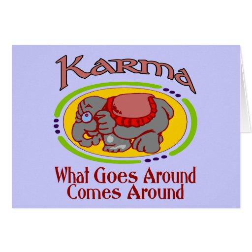Karma Elephant Cards