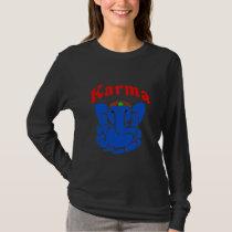 Karma Elephant, namaste, T-Shirt