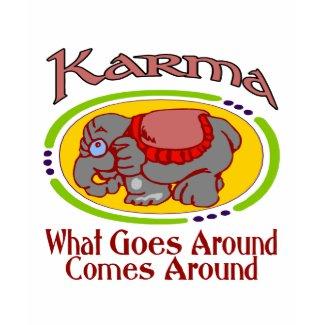 Karma Elephant shirt