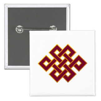 Karma ... Endless Knot or Eternal Knot Button