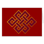 Karma ... Endless Knot or Eternal Knot Card