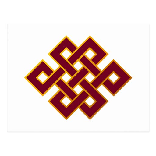 Karma ... Endless Knot or Eternal Knot Post Cards