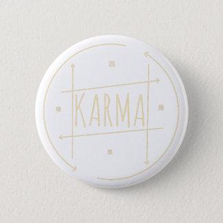 Karma (For Dark Background) Pinback Button
