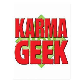 Karma Geek v2 Post Card