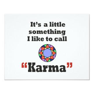 Karma gifts card