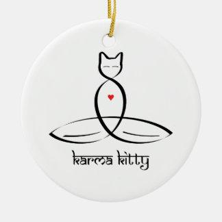 Karma Kitty - Sanskrit style text Ornament