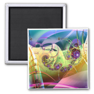 Karma Krystal 2 Inch Square Magnet