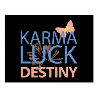 Karma Luck Destiny Postcards