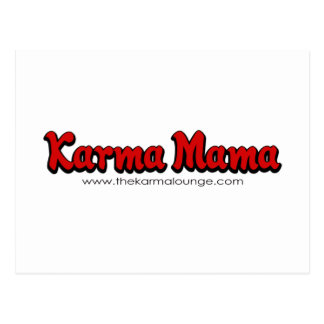 Karma Mama Postcard