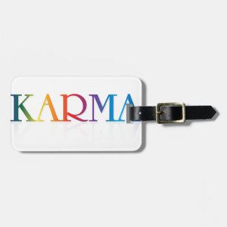 Karma Merchandise Luggage Tag