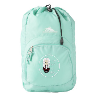 Karma & Newton's 3rd Law (Dark Background) Backpack