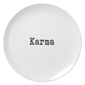 Karma Plate
