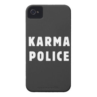 Karma police iPhone 4 Case-Mate cases