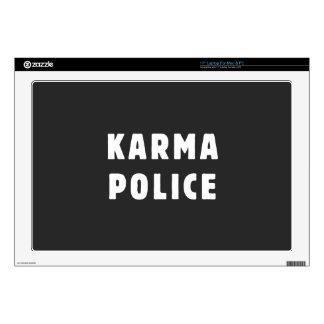 Karma police laptop decal