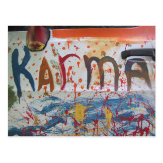 Karma Postcard