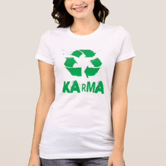 Karma recycled t shirt