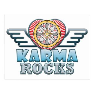 Karma Rocks Postcard