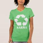 Karma Symbol T Shirts