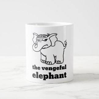 Karma: The Vengeful Elephant Coffee Mug