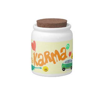 Karma Tip Jar Candy Dishes