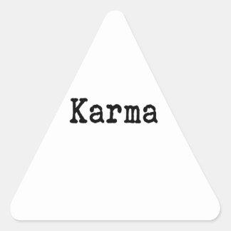 Karma Triangle Sticker
