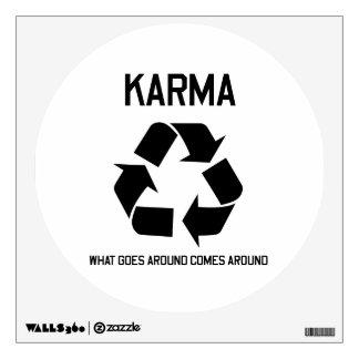Karma Wall Sticker