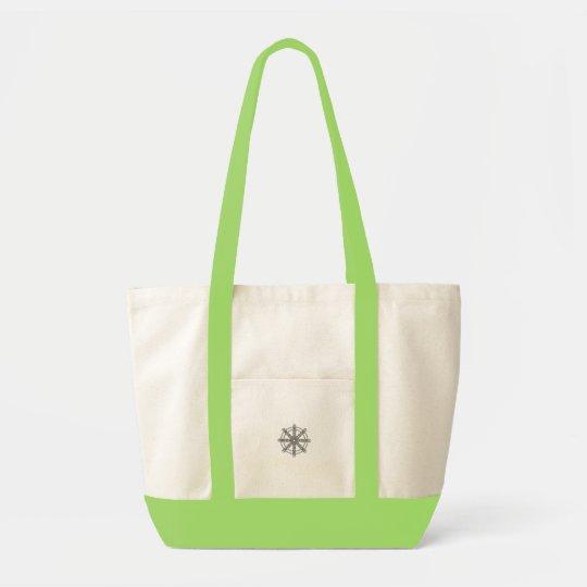 Karma Wheel Tote Bag