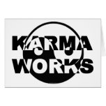 Karma Works Greeting Card