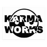 Karma Works Postcard