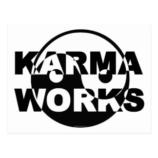 Karma Works Postcard