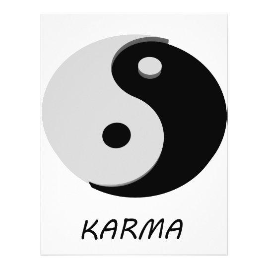 Karma Ying Yang Flyer
