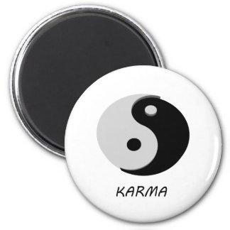 Karma Ying Yang Magnet