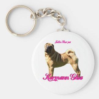 Karmann Ghia Key Chain