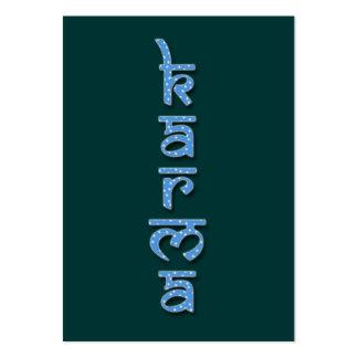 karmas - cielo tarjeta de visita