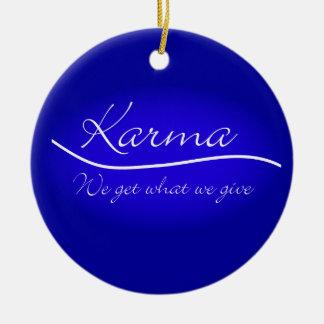 Karmas - conseguimos lo que damos ornamento para reyes magos
