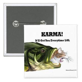 ¡Karmas! Pin Cuadrado