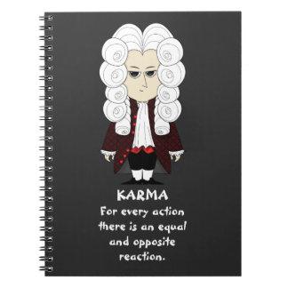 Karmas y ley de Newton la 3ro Libros De Apuntes