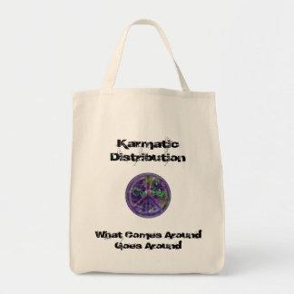 Karmatic Distribution Grocery Tote Bag