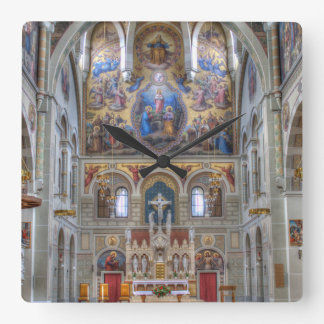Karmelitenkirche Square Wallclocks