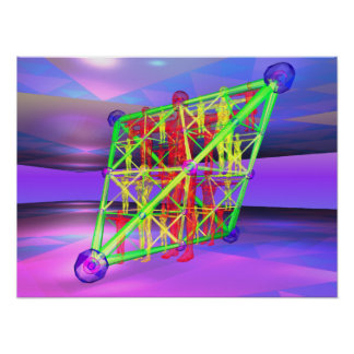 Karmic Tetrahedron Posters