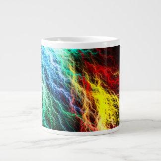Karmic Whiplash Rainbow Lightning Storm Coffee Mug