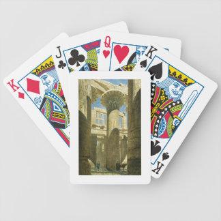 Karnak, c.1866 (w/c en el papel) baraja de cartas